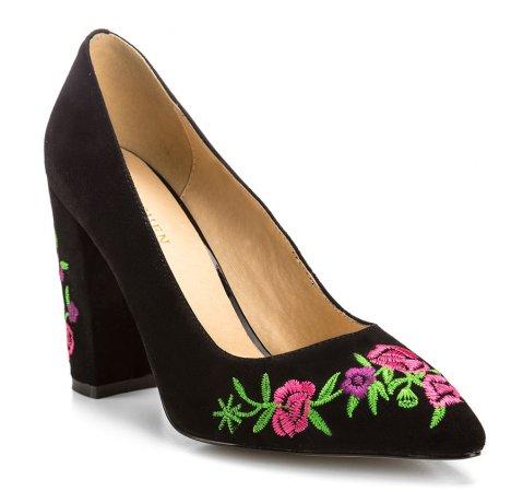 Buty damskie, czarny, 85-D-515-1-35, Zdjęcie 1