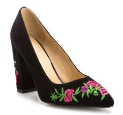 Buty damskie, czarny, 85-D-515-1-38, Zdjęcie 1