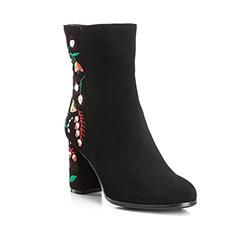 Buty damskie, czarny, 85-D-516-1-35, Zdjęcie 1