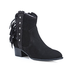 Women's ankle boots, black, 85-D-901-1-35, Photo 1