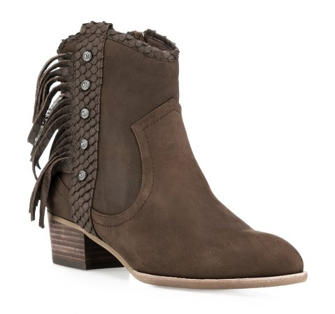Buty damskie, brązowy, 85-D-901-4-35, Zdjęcie 1