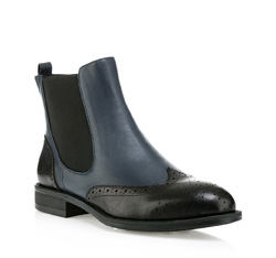 Buty damskie, granatowo - czarny, 85-D-903-1-40, Zdjęcie 1