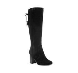 Women's knee high boots, black, 85-D-904-1-41, Photo 1