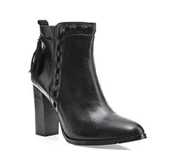 Buty damskie, czarny, 85-D-909-1-37, Zdjęcie 1