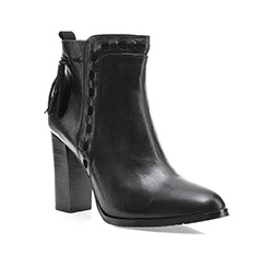 Buty damskie, czarny, 85-D-909-1-41, Zdjęcie 1