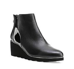 Buty damskie, czarny, 85-D-911-1-37, Zdjęcie 1