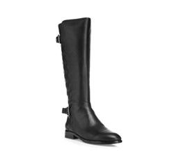 Women's knee high boots, black, 85-D-914-1-41, Photo 1