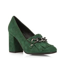 Buty damskie, zielony, 85-D-915-Z-35, Zdjęcie 1