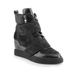 Women's shoes, graphite, 85-D-917-1-41, Photo 1