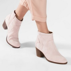 Women's shoes, light pink, 86-D-050-9-40, Photo 1