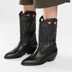Buty damskie, czarny, 86-D-053-1-38, Zdjęcie 1