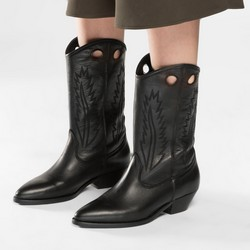 Buty damskie, czarny, 86-D-053-1-40, Zdjęcie 1