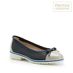 Women's shoes, navy blue-grey, 86-D-110-9-39, Photo 1