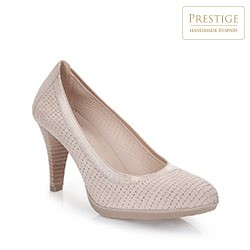 Women's shoes, light beige, 86-D-300-0-39, Photo 1