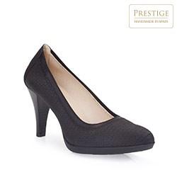 Buty damskie, czarny, 86-D-300-1-39, Zdjęcie 1
