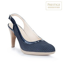 Women's court shoes, navy blue, 86-D-304-7-36, Photo 1