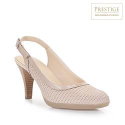 Buty damskie, beżowy, 86-D-304-9-35, Zdjęcie 1