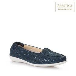 Women's shoes, navy blue, 86-D-305-7-39, Photo 1