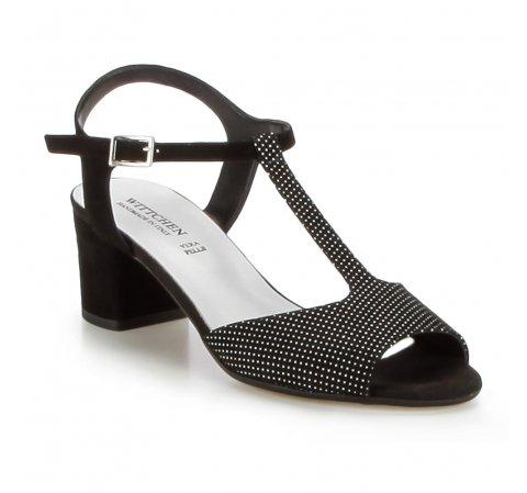 Buty damskie, czarny, 86-D-400-1-35, Zdjęcie 1
