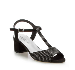 Buty damskie, czarny, 86-D-400-1-37, Zdjęcie 1