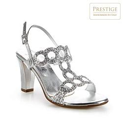 Buty damskie, srebrny, 86-D-407-S-38, Zdjęcie 1