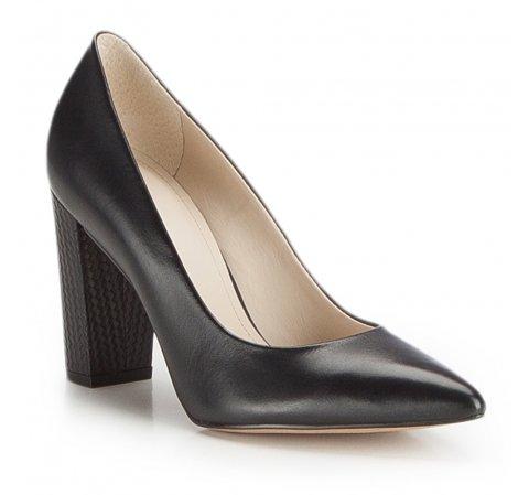 Buty damskie, czarny, 86-D-553-1-35, Zdjęcie 1