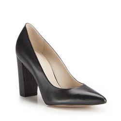 Buty damskie, czarny, 86-D-553-1-37, Zdjęcie 1