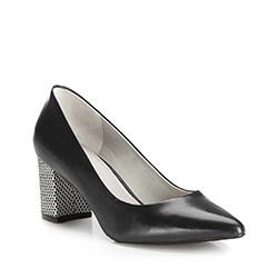 Buty damskie, czarny, 86-D-557-1-39, Zdjęcie 1