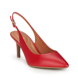 Buty damskie, czerwony, 86-D-559-3-39, Zdjęcie 1