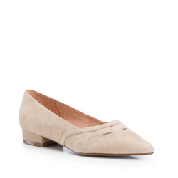 Women's ballerina shoes, beige, 86-D-602-9-38, Photo 1