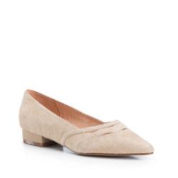 Buty damskie, beżowy, 86-D-602-9-40, Zdjęcie 1