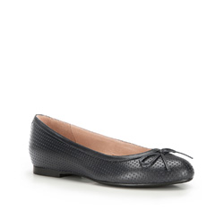 Women's ballerina shoes, black, 86-D-606-1-39, Photo 1