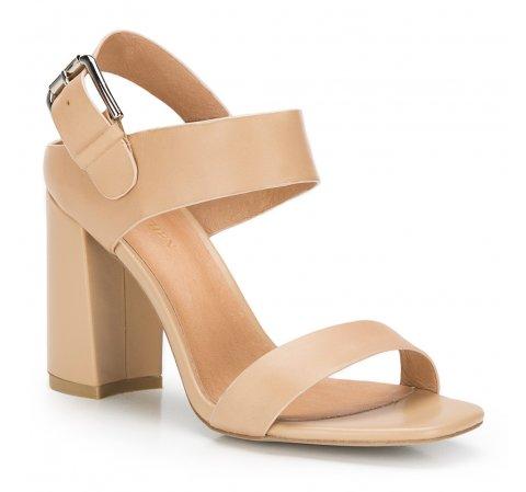 Buty damskie, beżowy, 86-D-652-1-40, Zdjęcie 1
