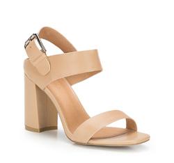 Buty damskie, beżowy, 86-D-652-9-40, Zdjęcie 1