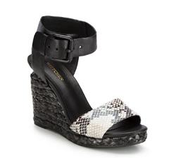 Buty damskie, czarny, 86-D-653-1-39, Zdjęcie 1