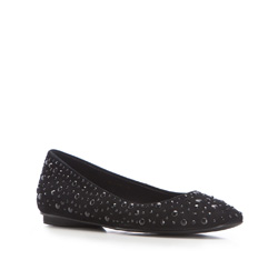 Buty damskie, czarny, 86-D-656-1-37, Zdjęcie 1