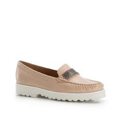 Buty damskie, beżowy, 86-D-700-9-35, Zdjęcie 1