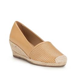 Buty damskie, beżowy, 86-D-701-9-35, Zdjęcie 1