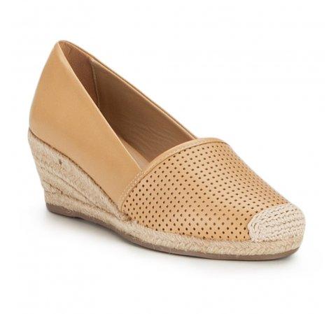 Buty damskie, beżowy, 86-D-701-P-41, Zdjęcie 1