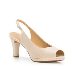 Buty damskie, beżowy, 86-D-705-0-35, Zdjęcie 1