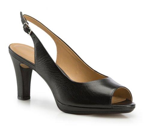 Buty damskie, czarny, 86-D-705-1-38, Zdjęcie 1