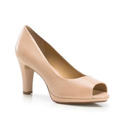 Buty damskie, jasny beż, 86-D-706-9-39, Zdjęcie 1