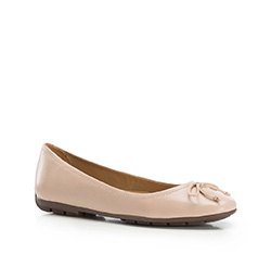 Women's ballerina shoes, beige, 86-D-708-9-39, Photo 1