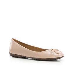 Buty damskie, beżowy, 86-D-708-9-41, Zdjęcie 1