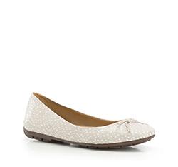Buty damskie, szaro - biały, 86-D-708-X-35, Zdjęcie 1