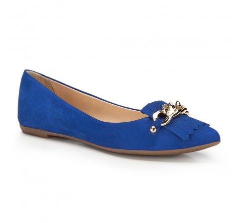 Buty damskie, niebieski, 86-D-752-N-35, Zdjęcie 1