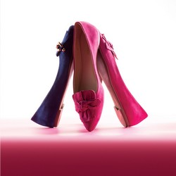 Buty damskie, różowy, 86-D-753-P-35, Zdjęcie 1