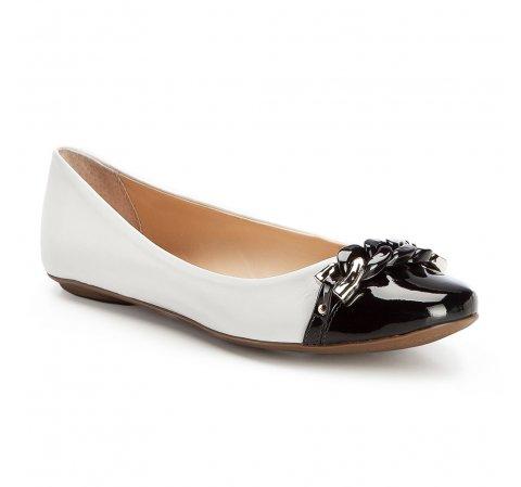 Buty damskie, biało - czarny, 86-D-756-0-36, Zdjęcie 1