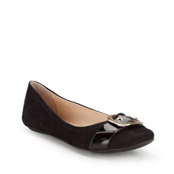 Women's ballerina shoes, black, 86-D-757-1-36, Photo 1