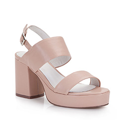 Women's sandals, beige-pink, 86-D-904-9-36, Photo 1